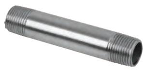 "Calbrite S41220CN00 1-1/4"" x 2"" SS Rigid Nipple"