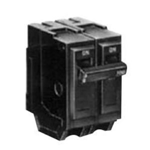 GE THQL2130GEN Breaker, 30A, 2P, 120V, 10 kAIC, Q-Line, Generator Interlock