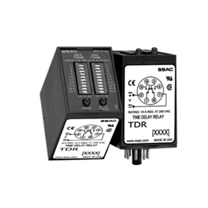 SSAC TDR4A12 Timing Relay, Recycling, Pulse Generator, 120VAc, On Time First *** Discontinued ***