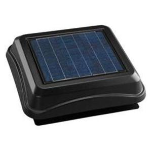Broan 345SOBK Solar Powered Attic Ventilator, Black