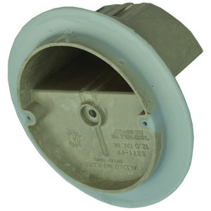 "Allied Moulded 9371-FRV 4"" Dia. Round Fixture Support Box For Use With Nonmetallic Sheathed Cable"