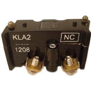 Eaton E30KLA2 Pilot Device, 30mm Contact Block, Multifunction, 1 NC, E30