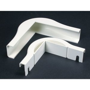 Wiremold 2818FO Nm Ext. Elbow Fo/cat5 2800 Ivory