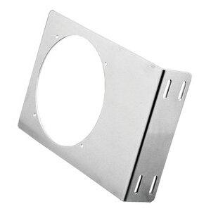 """nVent Hoffman ABRKT6 Fan Bracket, 10"""" x 7"""" x 2"""", Aluminum"""