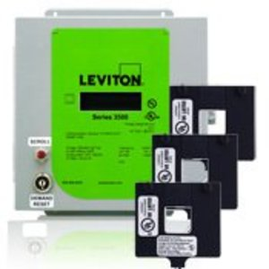 Leviton 3KUMT-2M Multi-Function Meter with Ethernet Communications