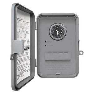 Intermatic WHAVQ4 Water Heater Timer, 24 Hour/7 Day