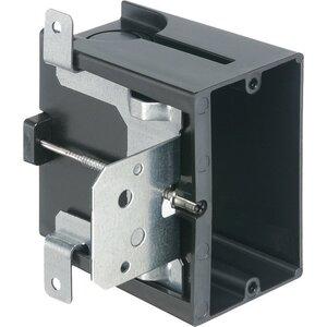 """Arlington FA101 Switch/Outlet Box, 1-Gang, Depth: 1/4"""" to 1-1/2"""", Non-Metallic"""