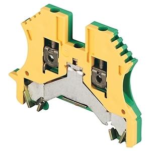 Allen-Bradley 1492-JG3 Terminal Block, Grounding, 22 - 12AWG, Green/Yellow, 2.5mm