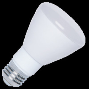 Halco 80112 LED Lamp, Dimmable, R20, 7W, 120V