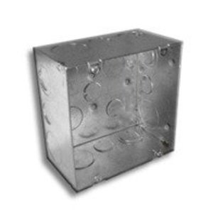 """RANDL Industries R-55015 Fire Signal Box, 5"""" Square x 2.875"""" Deep"""