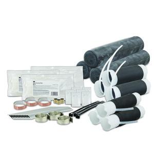 3M 5383 Splice Kit, Motor Lead Pigtail Type, Feeder Cable Range: 1/0 AWG - 250 MCM