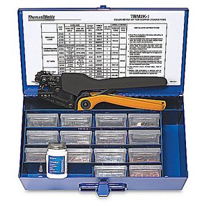 Thomas & Betts TBM2K-1 CONNECTOR KIT CASE WITH TOOLS