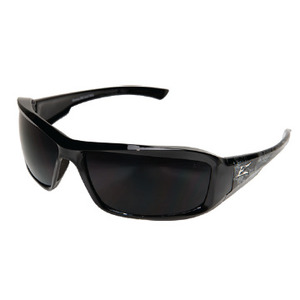 Wolf Peak XB116-S Brazeau Protective Eyewear, Full Frame, Gloss Black Skull Frame/Smoke Lens