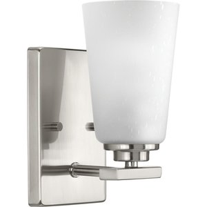 Progress Lighting P300008-143 1-Lt. Brushed Nickel Wall Sconce