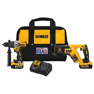 DEWALT DCK294P2 20V Max Cordless Tool Kit