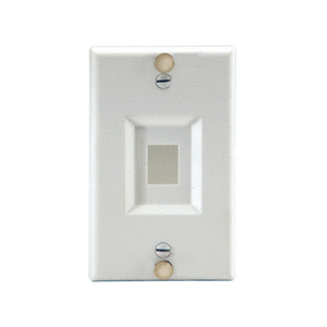 ON-Q WP3467-SS Wall Phone Plate, Stainless Steel, (m10)