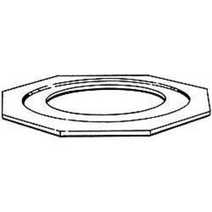 """Hubbell-Raco 1383 Reducing Washer, 2-1/2"""" x 2"""", Steel"""