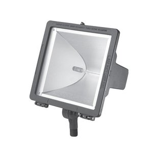 Hubbell-Outdoor Lighting QL-505 FLDLGHT 300/500W QTZ 120V GRY