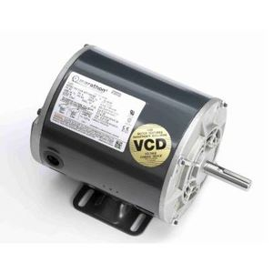 Marathon Motors B386-GX Motor, Air Compressor, 5HP, 3600RPM, 208-230VAC, 1PH, Drip Proof