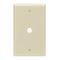 PJ11-W WHT WALLPLT MID 1G TELE ,406 HOLE