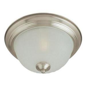 Maxim Lighting 5831FTSN Ceiling Light, 2-Light, 60W, Incandescent, Satin Nickel