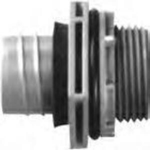 "Carlon LN43EA 3/4"" Carflex One-Piece Liquidtight Connector, Straight"