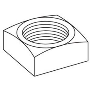 Eaton B-Line NUT-SQ-1/2-ZN B-LINE NUT,SQ-1/2-ZN SQUARE NUT, 1/