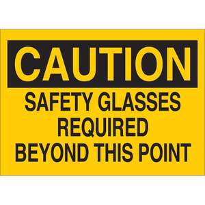22593 EYE PROTECTION SIGN