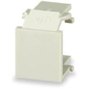 Signamax CMK-BL-WH Blank Keystone Module, White