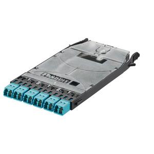 Panduit FHSZA-12-10R HD Flex LC Splice Cassette Preloaded wit