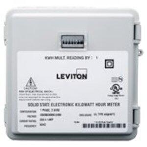 Leviton 6S101-B02 EB 1P/2W MINIMTR 240V OUTDOOR 1KWH 200A