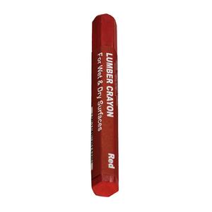 Dottie DCR3P Red Lumber Marking Crayons