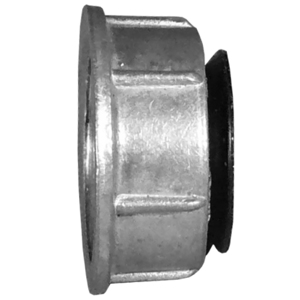"Appleton GB-1000 Bushing, Insulated, 4"", 1/0 to 14 AWG, Zinc Die Cast"