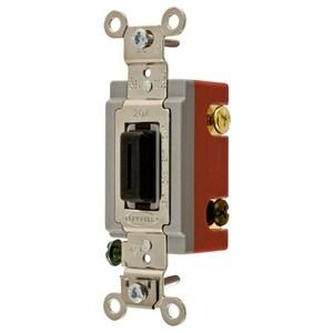 Hubbell-Wiring Kellems HBL1224L 4 WAY TOG, IND GRD, 20A 120/277V, KEYED