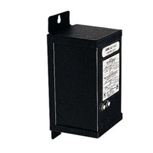 Juno Lighting MAGXFMR-1C-250W-120-24AC-BL Transformer, Magnetic, Remote Mount, 120VAC, 24VDC, 250VA, Black