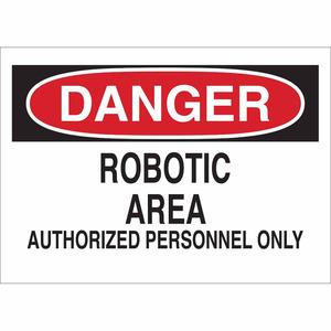 Brady 84111 MACHINE & OPERATIONAL SIGN