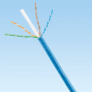 Panduit PUP6504BU-UY Copper Cable, Premium Cat 6, 4-Pair, 23