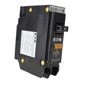 Eaton BRN120EP 20Amp, 120 Vac, Single-Pole, Requires One 1-Inch Space