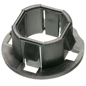 "Arlington 4404 Snap-In Knockout Bushing, 1-1/2"",Plastic"
