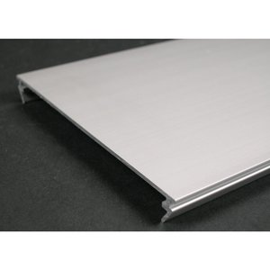 "Wiremold AL5246-B Blank Cover Plate, Aluminum, 12"" x 4-7/8"""