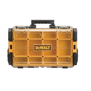 """DEWALT DWST08202 Organizer, Clear Lid, 4-1/2"""" x 13-1/8"""""""
