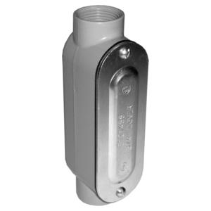 "Appleton LC75DCG Conduit Body, Type: C, Size: 3/4"", Includes Cover/Gasket, Aluminum"