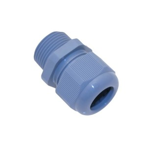 "Mencom PCG-3/4R Cord Connector, 1/2"", Cord Range: .394 to .551"", Non-Metallic"