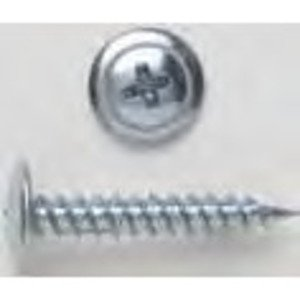 Bizline R812WS Sharp Point Screw, Wafer Head, Phillips, 8 x 1/2""