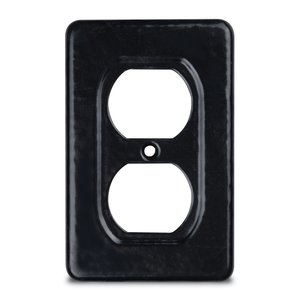 Ocal DS23-G PVC Coated FS/FD Duplex Receptacle Cover, 1-Gang