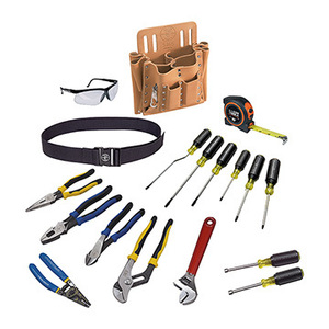 Klein 80118 18 Piece Journeyman Tool Set