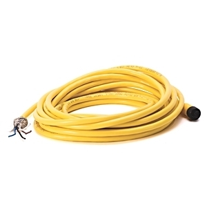 Allen-Bradley 889D-F4EC-5 Cordset, DC Micro M12, 4 Pin, Straight, Female, 5m, Yellow
