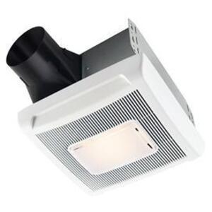 Nutone AN70L 70 CFM Ceiling Fan w/ Light, Single-Speed