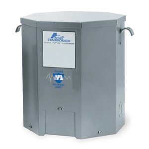 Acme T2536151S Transformer, Dry Type, 7.5KVA, 600VAC Primary, 120/240VAC Secondary