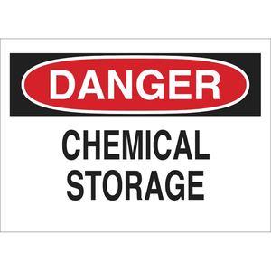 22311 CHEMICAL & HAZD MATERIALS SIGN